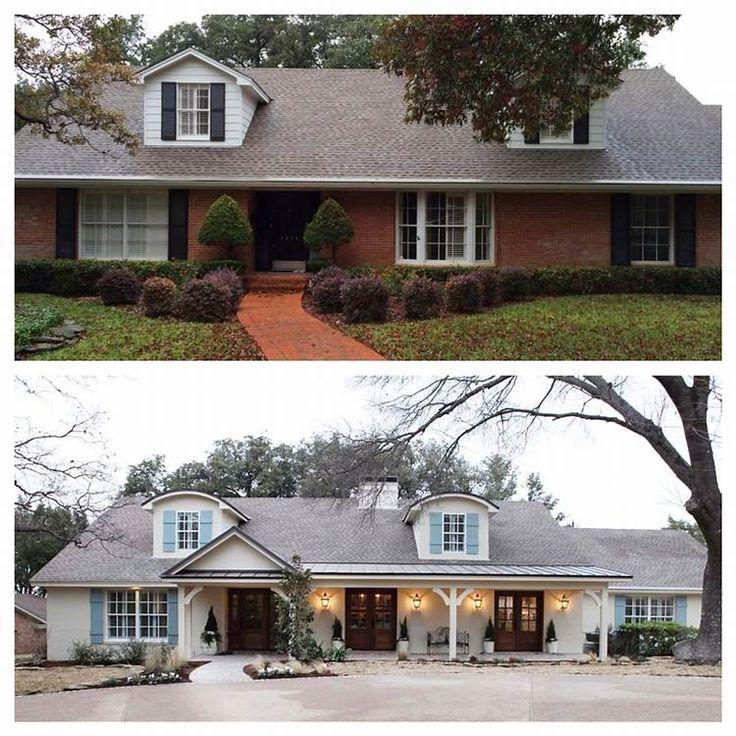 Long Lasting Exterior House Paint Colors Ideas: 25+ Great Ideas About Ranch House Exteriors On Pinterest