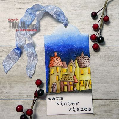 Tag by Tanja for the December TAGplorations Challenge - All About Christmas