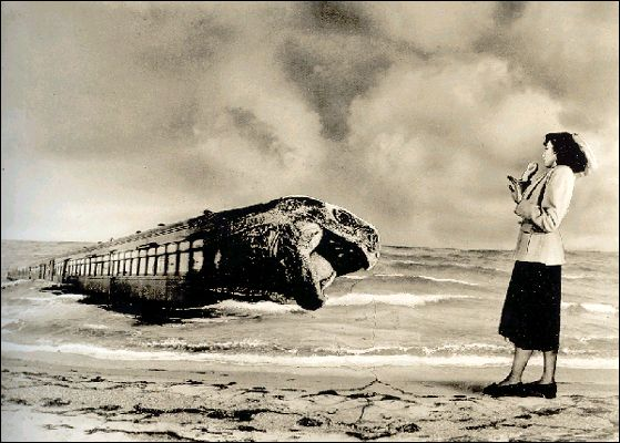 Grete Stern (1904-99). Dream no. 2: On the Platform, 1949.