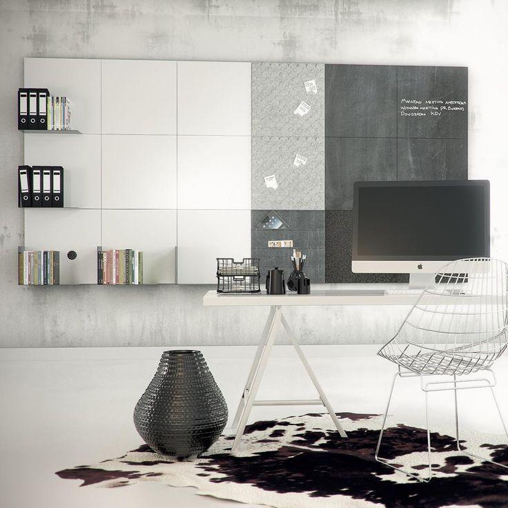 Of je nu thuis of op je werk bent: dingen vergeten gebeurt ons allemaal wel eens. Schrijf of hang al je afspraken op. Met onze Stylepads kan dit op 3 manieren: op een krijtbord, whiteboard of magneetbord! #stylepads #dockfour #home #office #interiordesign #memory #chalkboard #magnetboard #interior #interieur