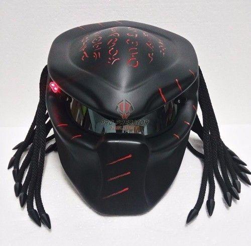 PREDATOR HELMET CUSTOM BANDUNG-DOT APPROVED | fanie2306_Helmets - on ArtFire