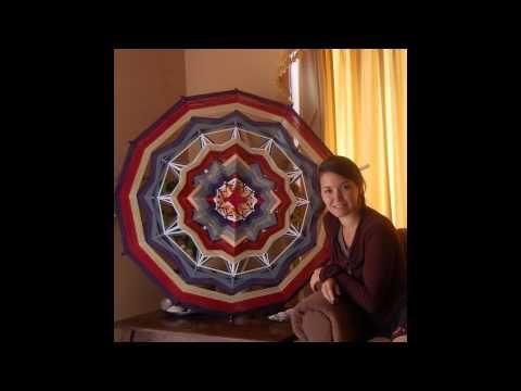 mandalas tejidos ojos de dios PANAMBI - YouTube