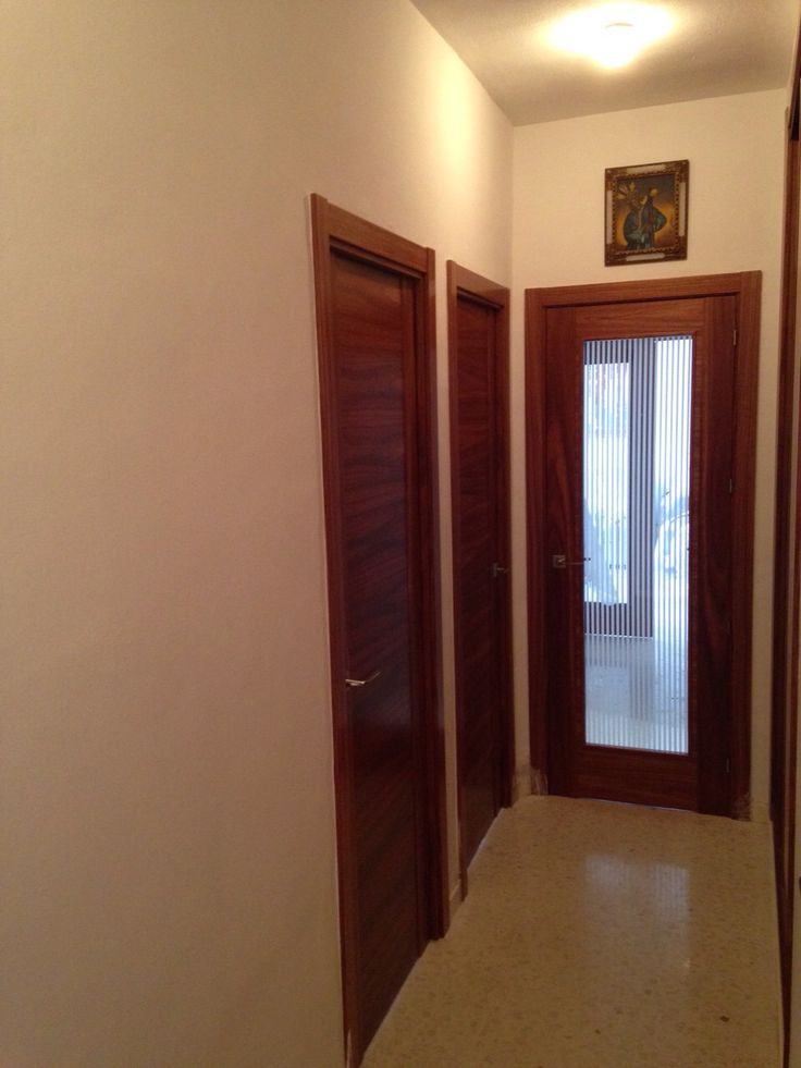 79 best images about puertas madera natural on pinterest - Color puertas interior ...