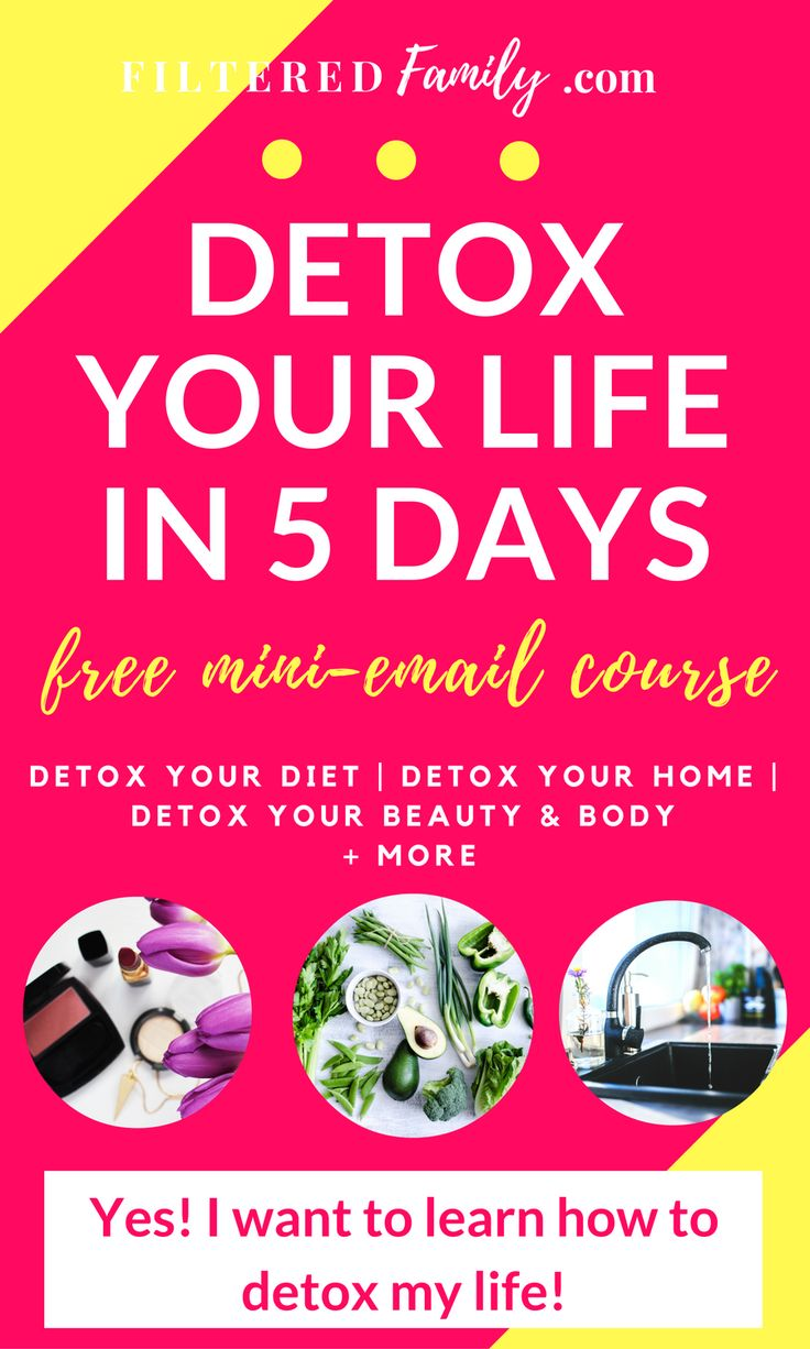 Learn how to get the toxins out of your food, beauty & body products, and out of your home without having to do months of research! This totally free 5 day mini-email course is small but it packs a big punch of info. I cover everything from detoxing your diet to what toxins are lurking in your home. Plus the free course includes handy downloadable PDF checklists and guides so you can succeed! Made with lots of love! | via FilteredFamily.com