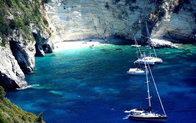 île Paxos plage