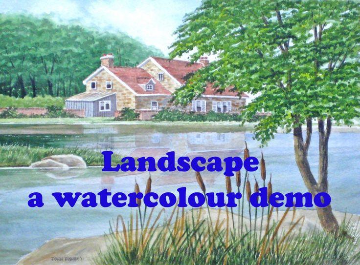 237 best Aquarel strand, landschap e.d. images on Pinterest ...