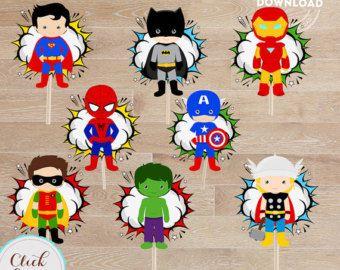 Superhero Baby Centerpiece Superhero baby Table Centerpiece | Etsy