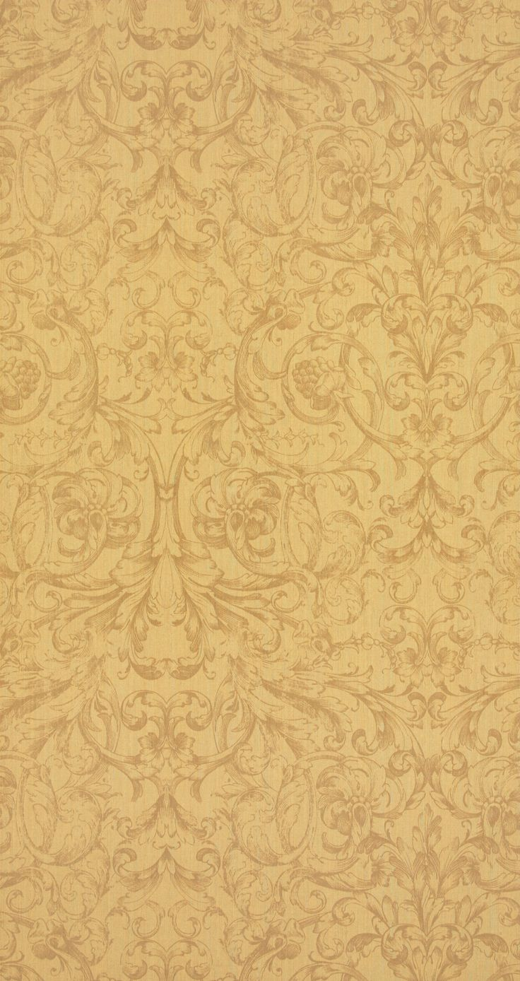 Mellow Yellow tones from the Dutch Masters wallpaper collection