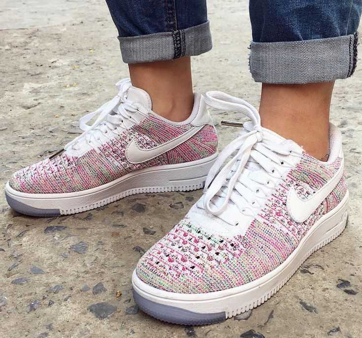 Nike Air Force 1 Flyknit Womens Low