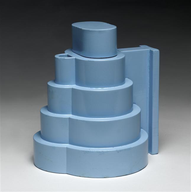 Lapis Lazuli Teapot (1972) by Ettore Sottsass, Indian Memory Series