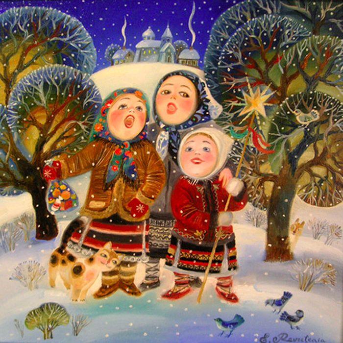 Картинки рождество святки