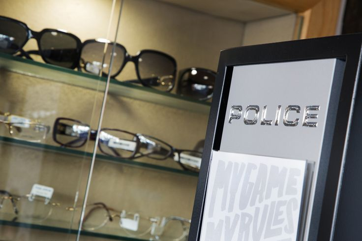Here at our Stratford Upon Avon practice, you can find the latest in designer frames from top brands, such as Police