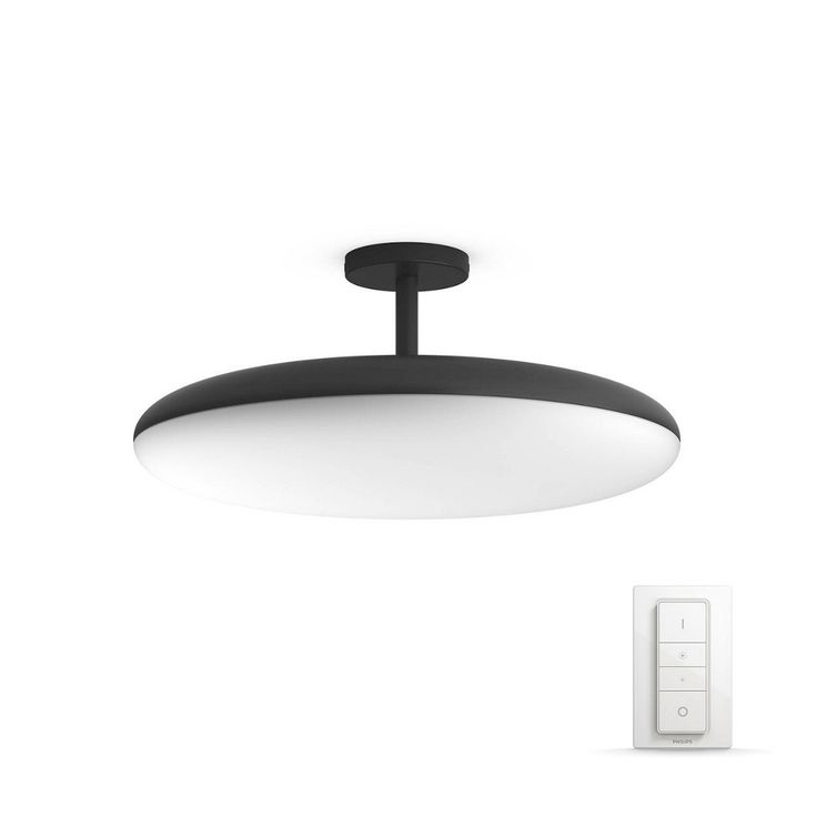 PHILIPS LED-DECKENLEUCHTE, Schwarz Jetzt bestellen unter: https://moebel.ladendirekt.de/lampen/deckenleuchten/deckenlampen/?uid=0dc5acb0-5461-5df9-966c-1969d347d739&utm_source=pinterest&utm_medium=pin&utm_campaign=boards #deckenleuchten #lampen #deckenlampen