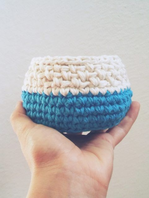 free crochet bowls set pattern