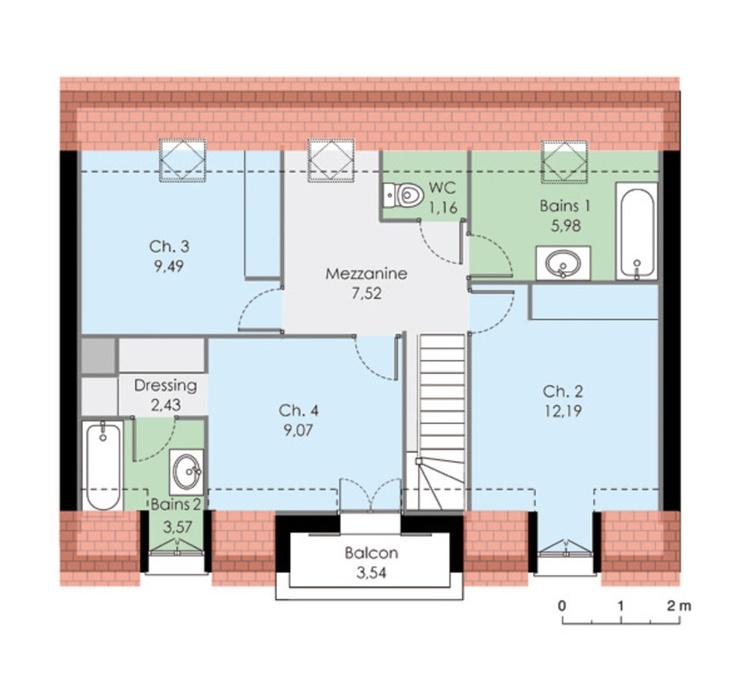 Les 25 meilleures id es de la cat gorie plan maison 120m2 for Modifier plan maison