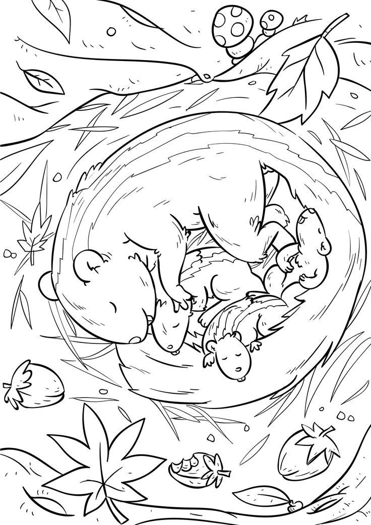 eichhörnchen mandalas ausdrucken malvorlagen