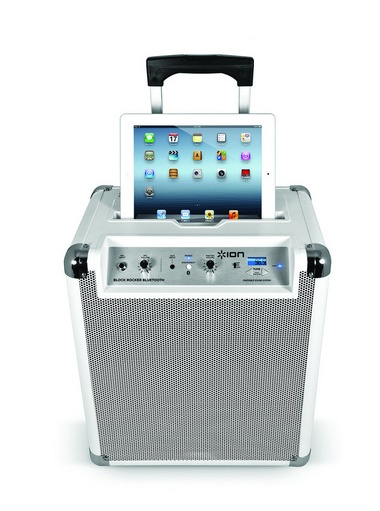 Blockrocker BT - Sistema audio ultra portaile con bluetooth, Radio FM bianco | electromania.co @211.40€