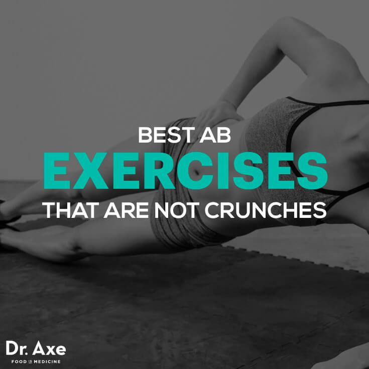 Ab Workouts & Best Exercises That Are Not Crunches - Dr. Axe