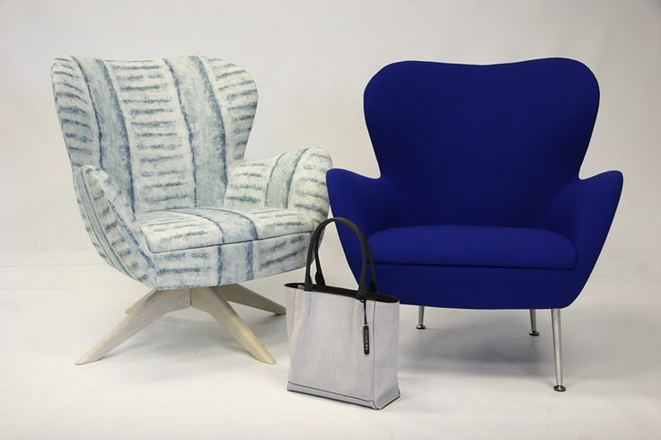 Via Veneta handbag featured in Comfort Creations soft seating photoshoot