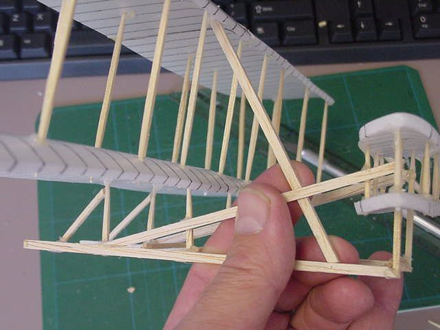 Wright Brothers Plane Model, I need to do this for a history project