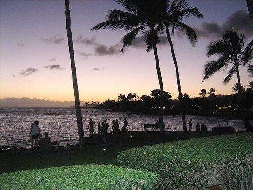View from the Beach House Restaurant, Kauai