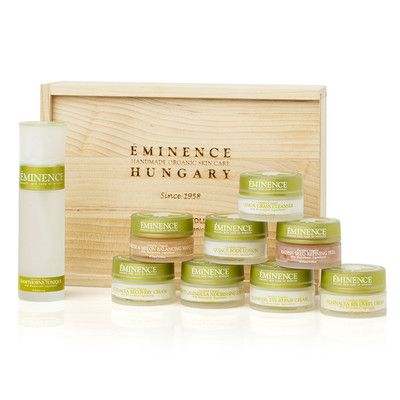 #LeapingBunny Cruelty Free Holiday 2014: Biodynamic® Collection Wooden Box from Éminence Organic Skin Care
