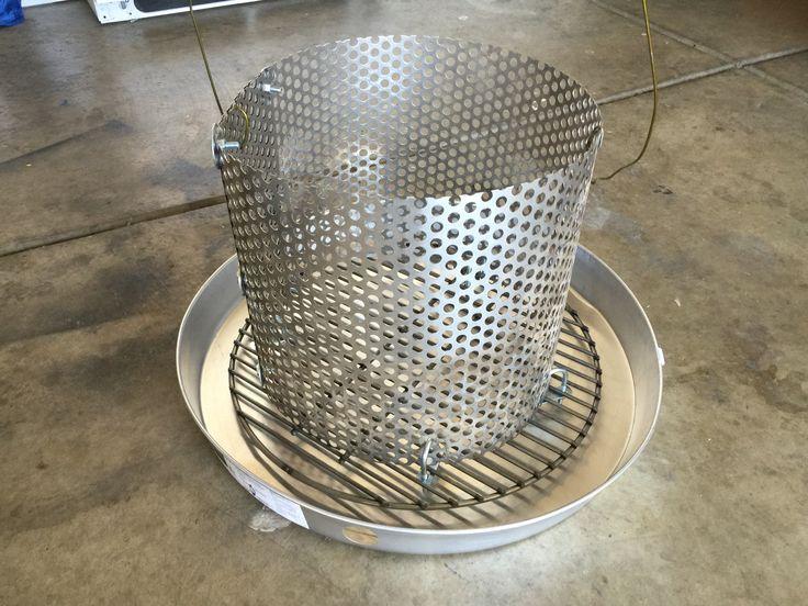 Charcoal basket n drip pan