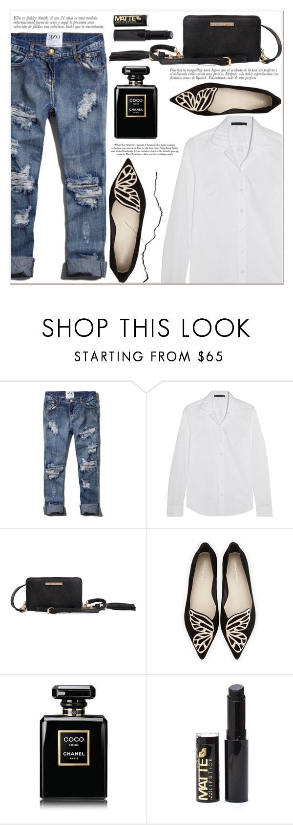 # I/1 Poppy & Peonies by lucky-1990 on Polyvore featuring Karl Lagerfeld, Abercrombie & Fitch, Sophia Webster and Chanel
