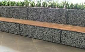1000 Images About Gabion Benches On Pinterest Rocks
