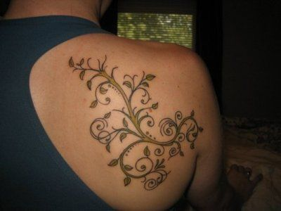 female tattoos on shoulder - Bing Images