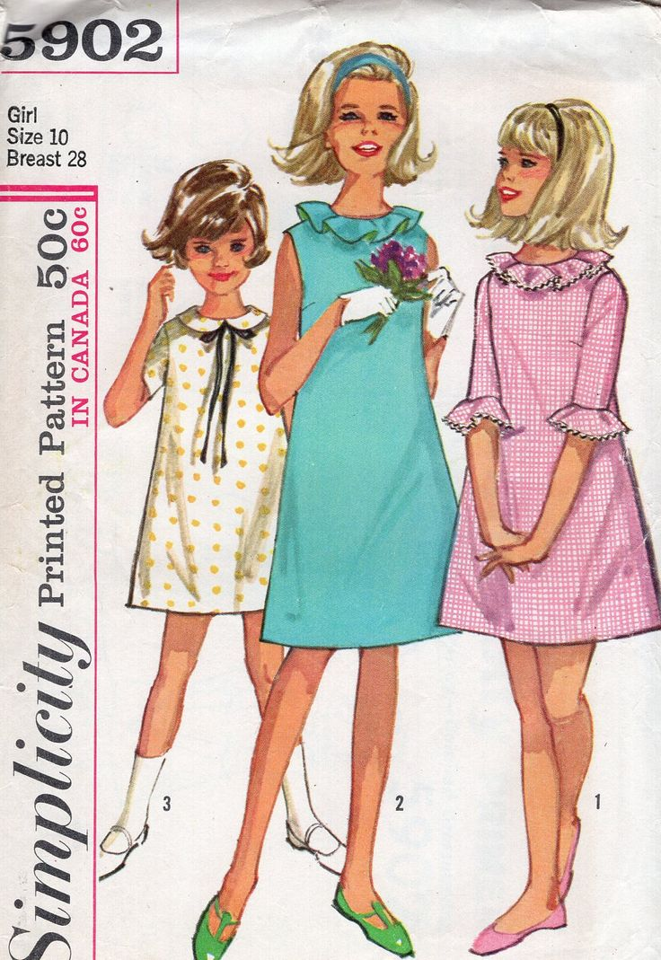 314 best Girls Sewing Patterns New & Vintage images on Pinterest