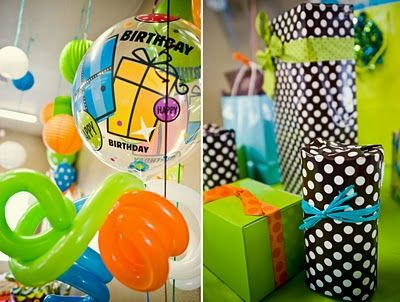 baby boy birthday party! love these colors