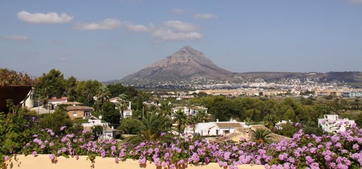 Gusto y  Sentido con vistas al Montgó en El Rodat.  http://www.elrodat.com/  #xabia #javea #costablanca www.xabia.org