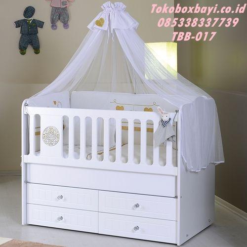 ranjang bayi minimalis 4 laci eliza box harga murah tempat tidur terbaru 2017