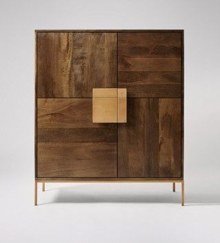 Banner, Cabinet, Mango Wood & Steel