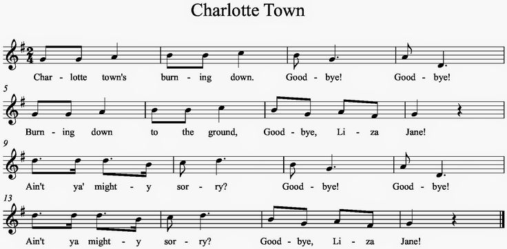 Image result for charlotte town song