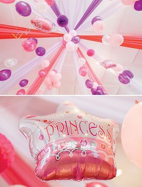 Pink Royal Barbie Princess First Birthday Party
