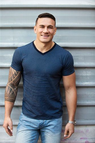 Some images of Sonny Bill Williams down to his denims for your Friday, why not?