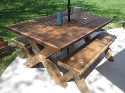 Small Shop Layout Ideas Wood Picnic Tables Michigan Wood Walking - Picnic table michigan