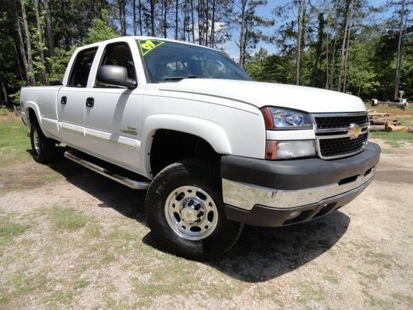 2007 Silverado 2500HD DuraMax Diesel 44 LT real nice shape. (exit91 off i-26 CHAPIN SC) $17975