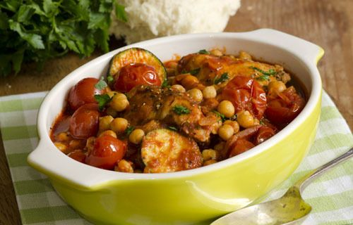 Moroccan vegetable tagine -- delicious and easy