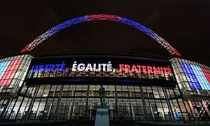 England fans will be asked to sing the French national anthem ahead of Tuesday's match at Wembley.