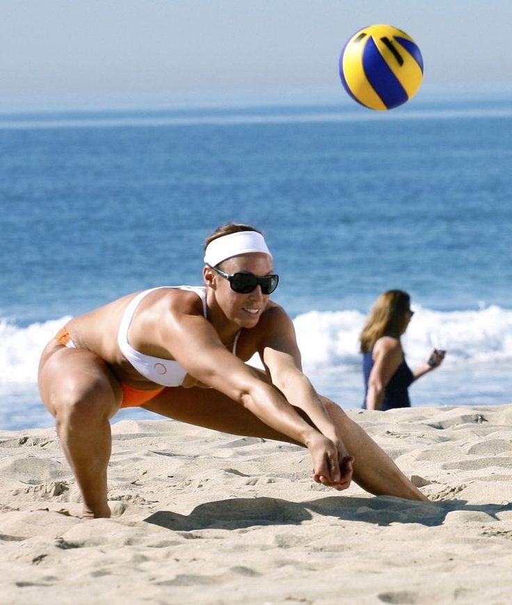 2016 Olympic hopefull, Lauren Fendrick. #NORMS #Volleyball #Olympics #Beach_Volleyball normsrestaurants.com