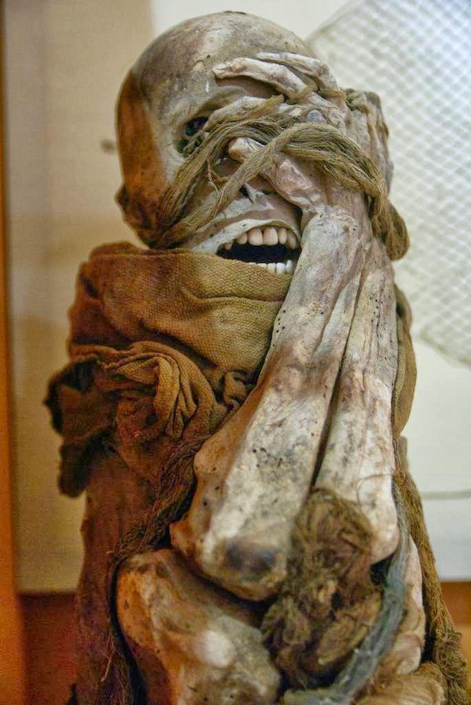 MOSHITA — The strange Sarcophagi of Chachapoya By the time...