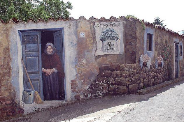 murales Fonni, Sardegna