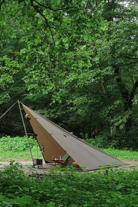 63 best Tarp Setups & Bushcamps images on Pinterest ...