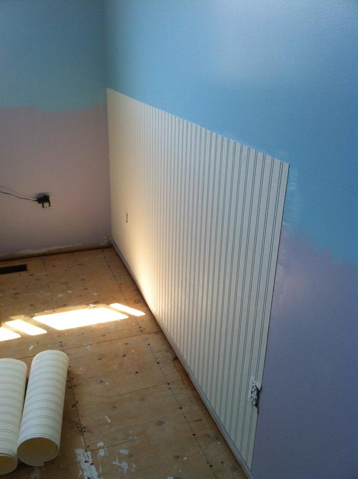 1000 images about board batten beadboard on pinterest for Wallpaper rolls home depot