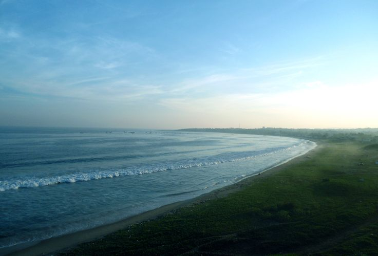 Bay of Bengal at Visakhapatnam, India