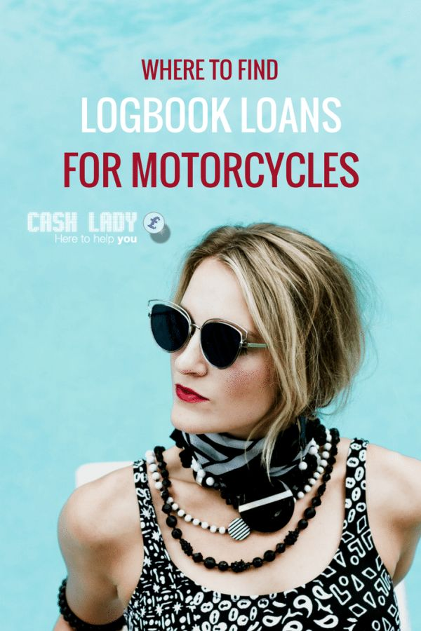 Don't drive a car but need a logbook loan? Cash Lady explains how to get logbook loans for motorcycles and the best places to find them via @ukcashlady