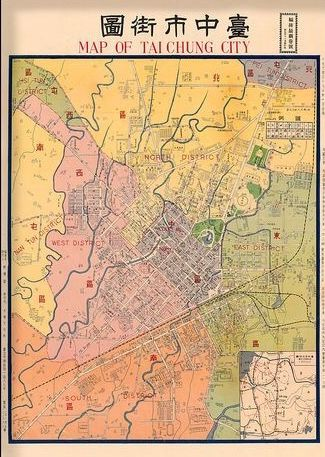 324 best map images on pinterest maps antique maps and cards vintage map of taichung city taiwan old mapsmap sciox Gallery